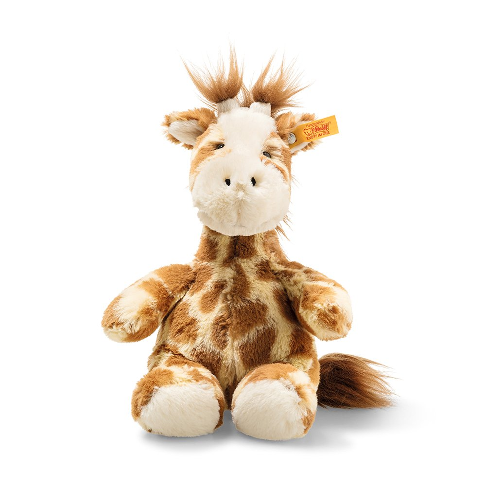 Steiff 德國金耳釦泰迪熊: Soft Cuddly Friends Girta Giraffe