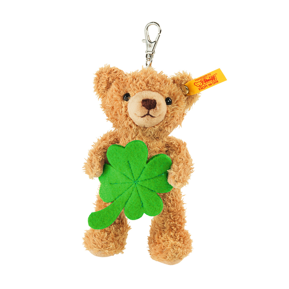 Steiff 德國金耳釦泰迪熊: Keyring Lucky Charm Teddy Bear