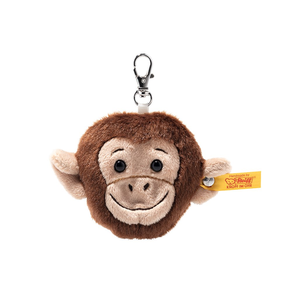 Steiff 德國金耳釦泰迪熊: Pendant Jocko Monkey Head