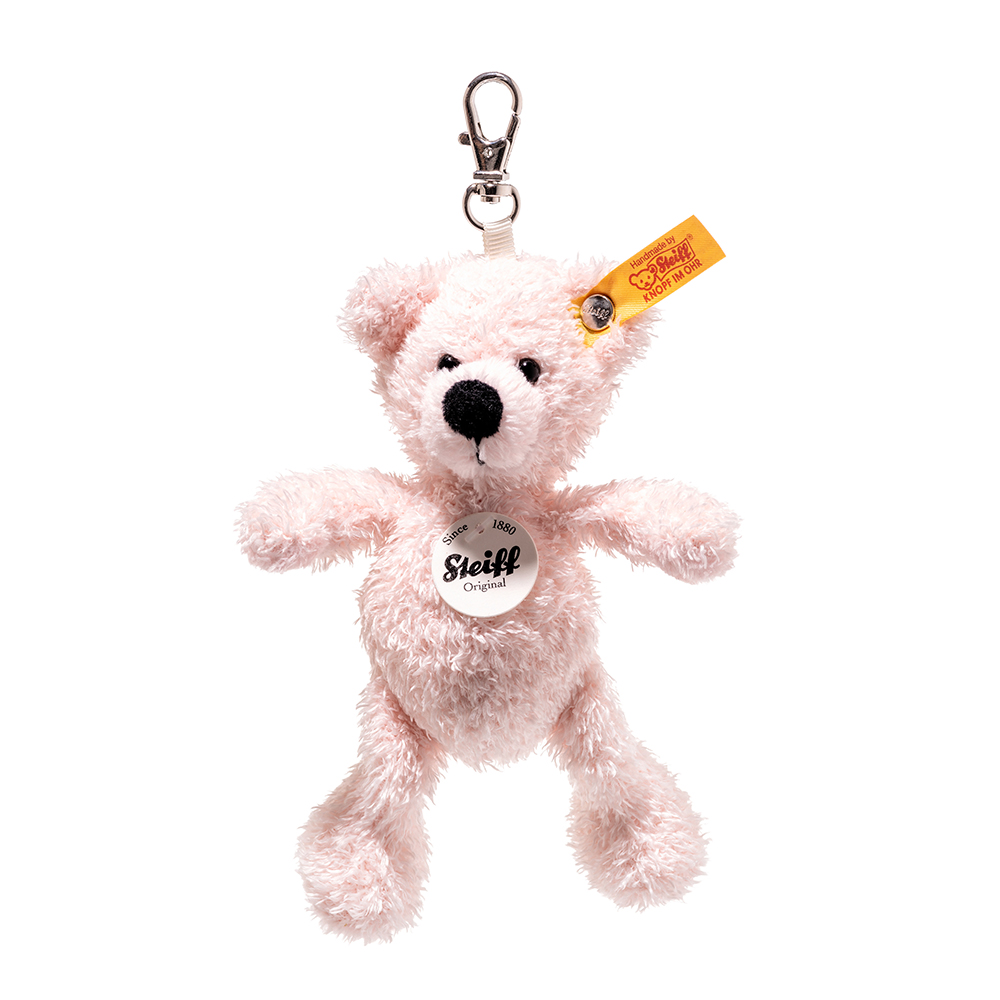 Steiff 德國金耳釦泰迪熊: Keyring Lotte Teddy Bear