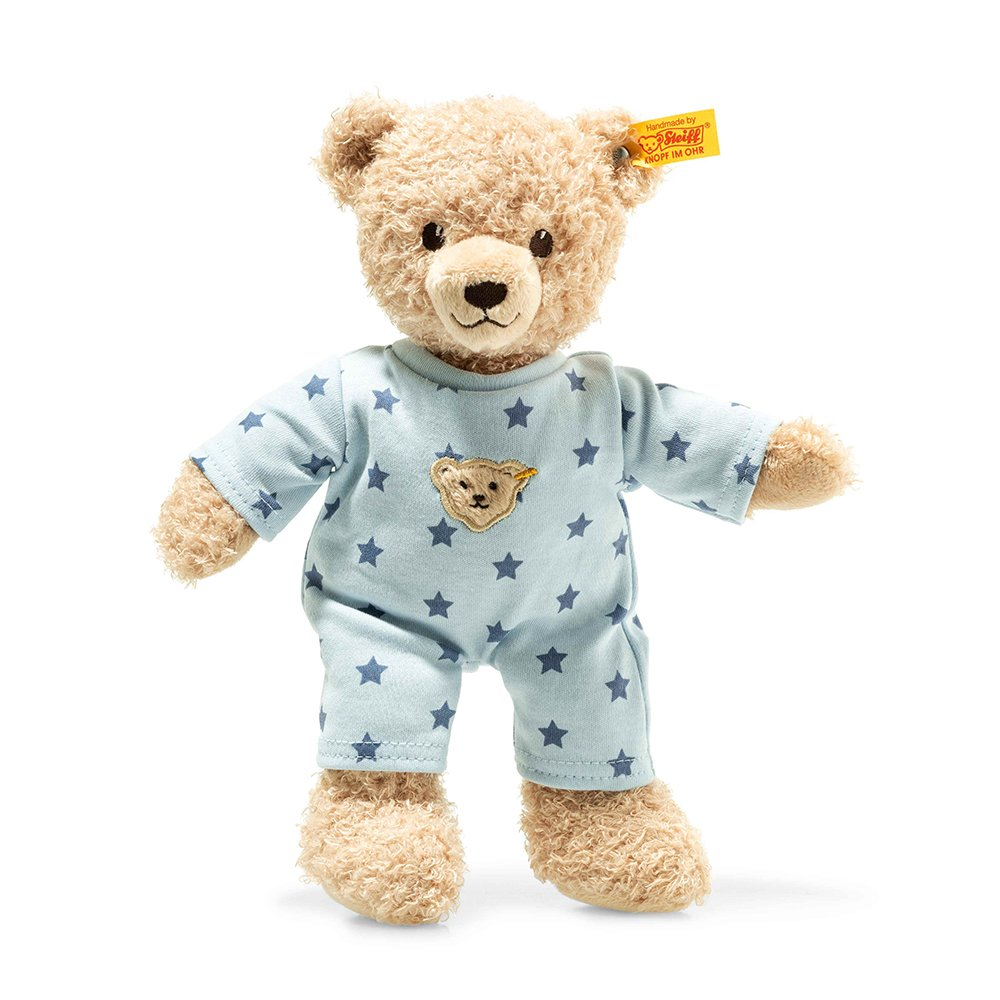 Steiff 德國金耳釦泰迪熊: Teddy Bear Boy Baby with pyjama
