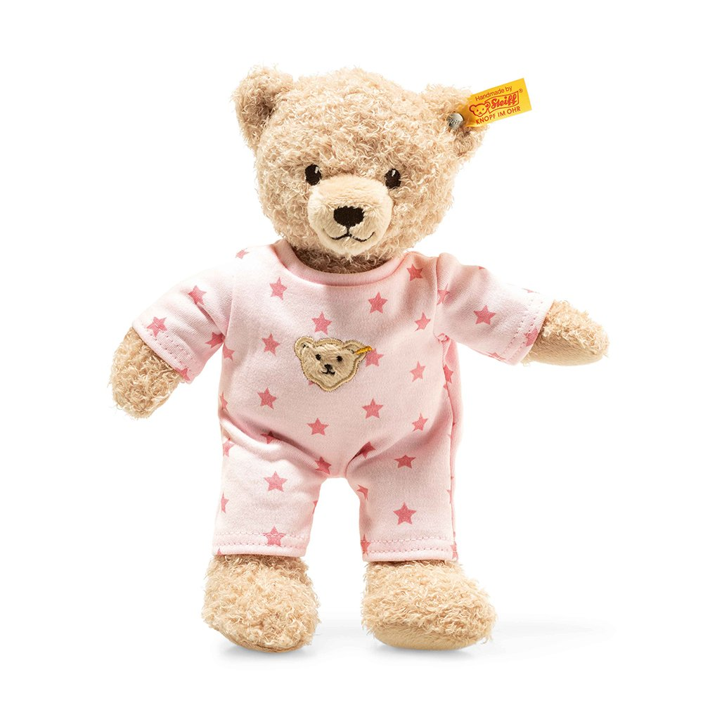 Steiff 德國金耳釦泰迪熊: Teddy Bear Girl Baby with pyjama
